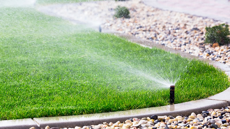 Lawn Sprinkler and Irrigation System Installation and Repair West Valley Utah and Salt Lake City.