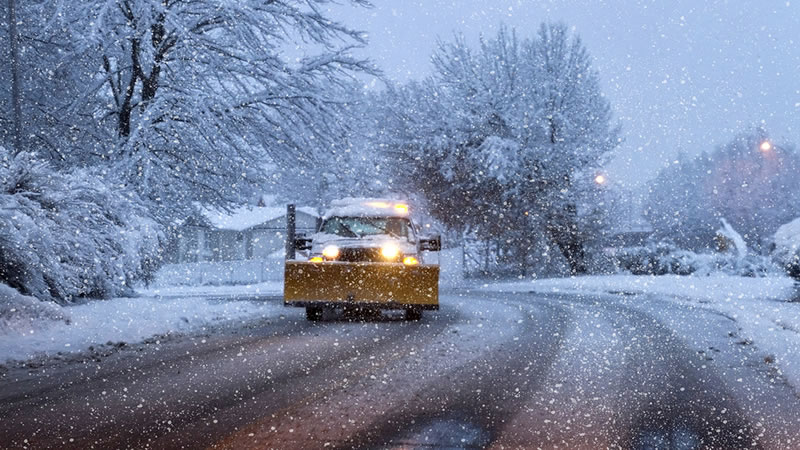 Snow Removal and Ice Control Services West Valley and Salt Lake City Utah.